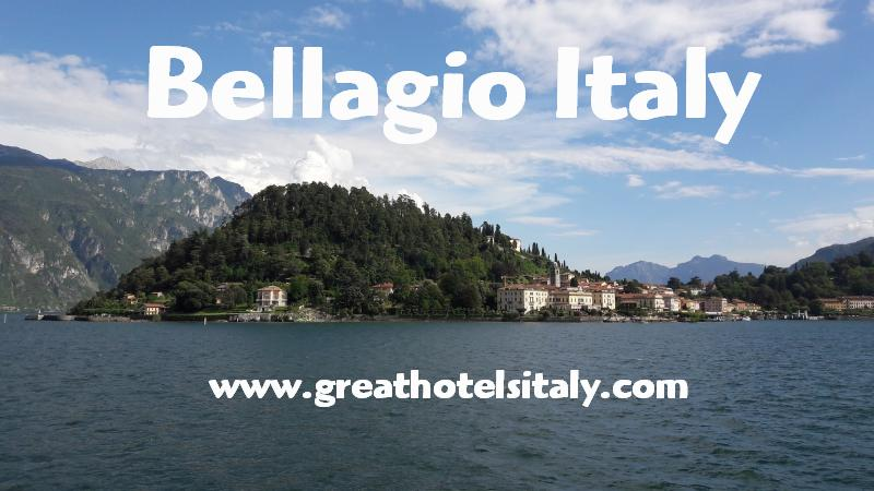Bellagio is still referred to as most beautiful village in Italy.