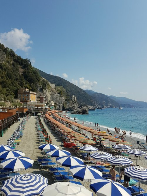 Monterosso al Mare. It boasts some great beaches for sunbathing and swimming, as well as wine and artisan shops.
