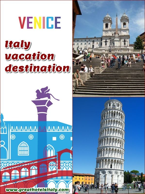 Italy vacation destination