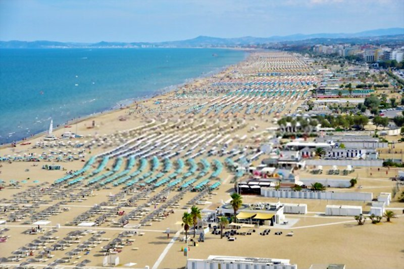 Rimini, Riccione, Cattolica and Cesenatico are only some of the more well-known Adriatic beach places.